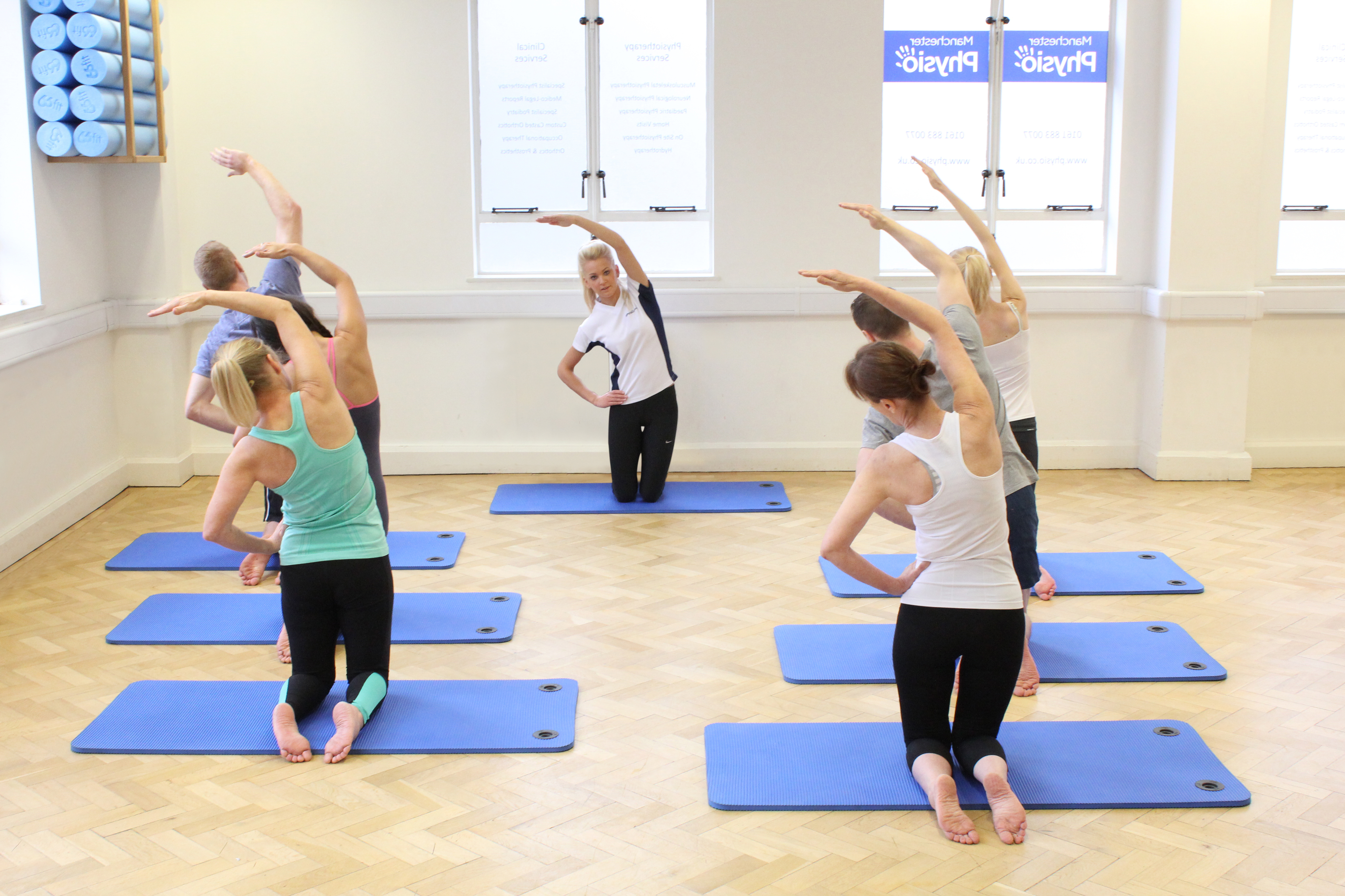 Pilates exercises to improve your stability