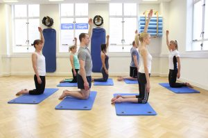 Pilates exercises for posture