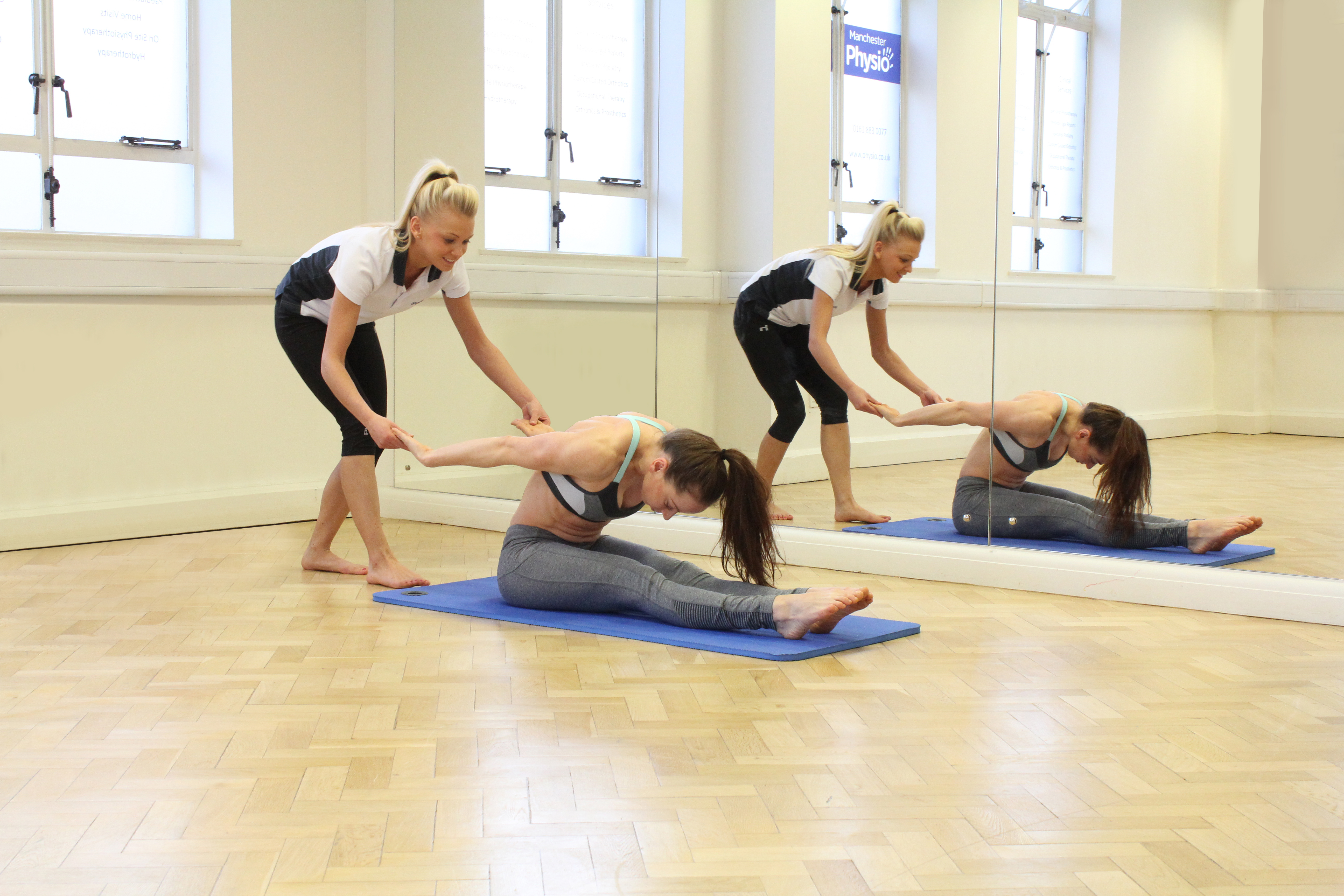 Pilates exercises to improve your strength